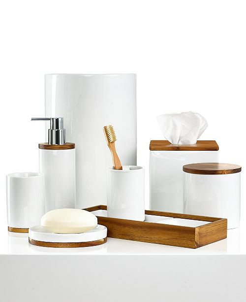 Hotel Collection CLOSEOUT! Century Tissue Holder, Created for Macy's