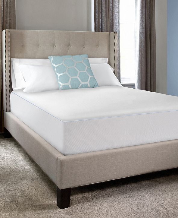 Sealy Cool Comfort Fitted Mattress Protector, Queen ...
