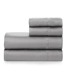 The Welhome Smooth Cotton Tencel Sateen Full Sheet Set