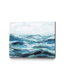 "40"" x 30"" Oceanic I Museum Mounted Canvas Print"