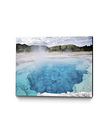 """24"""" x 18"""" Sapphire Pool Museum Mounted Canvas Print"""