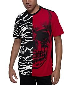 Men's Own The Night Split Beaded T-Shirt