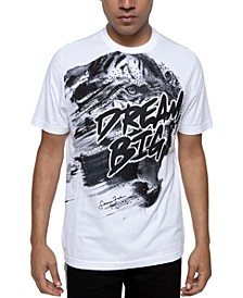 Men's Beaded Dream Big Tiger T-Shirt