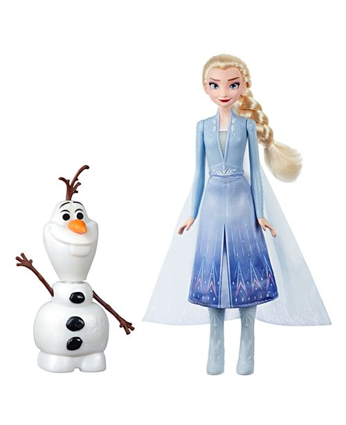 Frozen Disney Talk and Glow Olaf and Elsa Dolls, Remote Control Elsa Activates Talking, Dancing, Glowing Olaf, Inspired by Disney's Frozen 2 Movie - Toy For Kids Ages 3 and Up