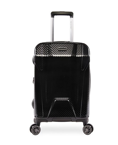 """Brookstone Herbert 21"""" Hardside Carry-On Luggage with Charging Port"""