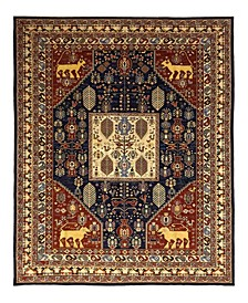"""CLOSEOUT! One of a Kind OOAK1094 Red 9'10"""" x 13'10"""" Area Rug"""