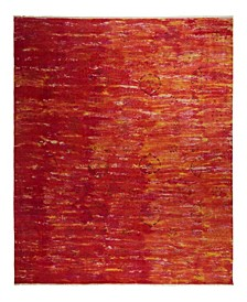 """One of a Kind OOAK2339 Red 7'10"""" x 10'1"""" Area Rug"""