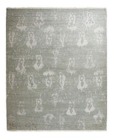 """One of a Kind OOAK2367 Silver 6'3"""" x 9'3"""" Area Rug"""