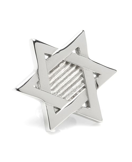 Ox & Bull Trading Co. Ox Bull & Trading Co Star of David Lapel Pin
