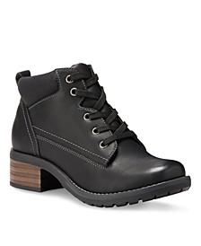 Eastland Bandana Lace-Up Boots