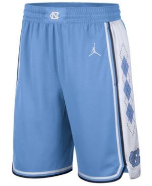 Nike Men's North Carolina Tar Heels Replica Basketball Road Shorts