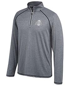 Men's Ohio State Buckeyes Horizon Reflective Quarter-Zip Pullover