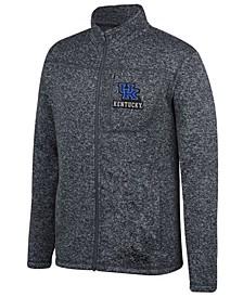 Men's Kentucky Wildcats Pioneer Full-Zip Marled Sweater
