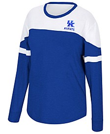 Women's Kentucky Wildcats Downfield Long Sleeve T-Shirt