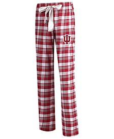 Women's Indiana Hoosiers Piedmont Flannel Pajama Pants