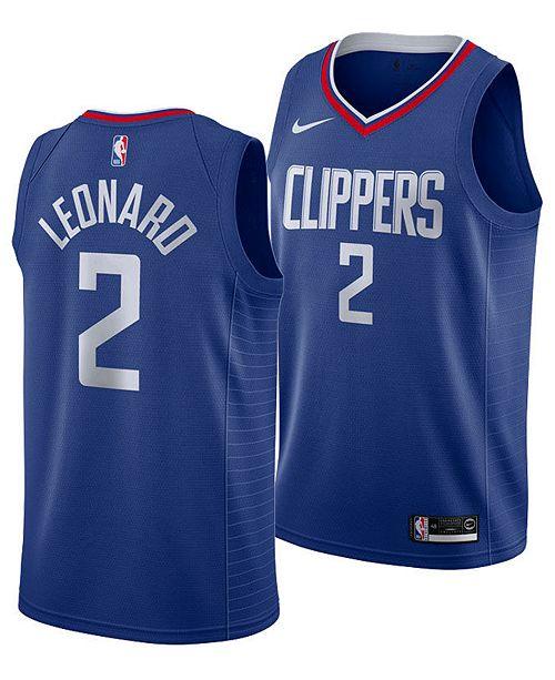 Nike Men's Kawhi Leonard Los Angeles Clippers Icon Swingman Jersey