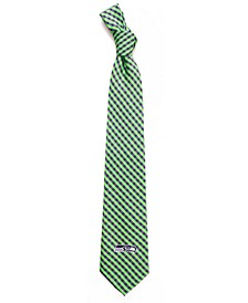Seattle Seahawks Poly Gingham Tie