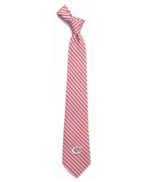 Cincinnati Reds Poly Gingham Tie