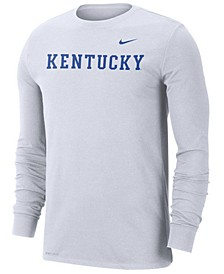 Men's Kentucky Wildcats Wordmark Long Sleeve T-Shirt