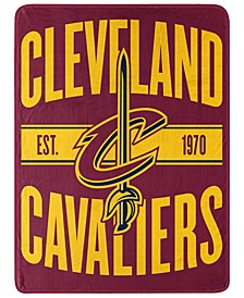 Cleveland Cavaliers Micro Raschel Clear Out Blanket