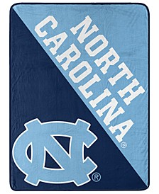 North Carolina Tar Heels Micro Raschel Halftone Blanket