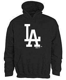 Big Boys Los Angeles Dodgers Logo Pullover Hoodie