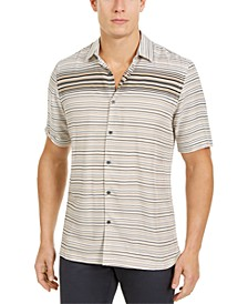 Men's Gradient Stripe Shirt, Created for Macy's