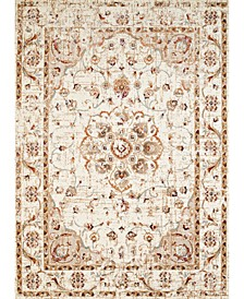 "Bridges Ponte Vecchio 3001 00497 24 Cream 1'10"" x 3' Area Rug"