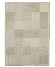 "Augusta Grand Anse 3900 10745 69 Green 5'3"" x 7'6"" Area Rug"