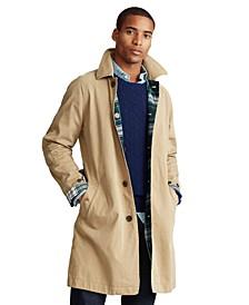 Men's Reversible Balmacaan Coat