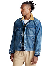 Men's Dungaree Denim Jacket