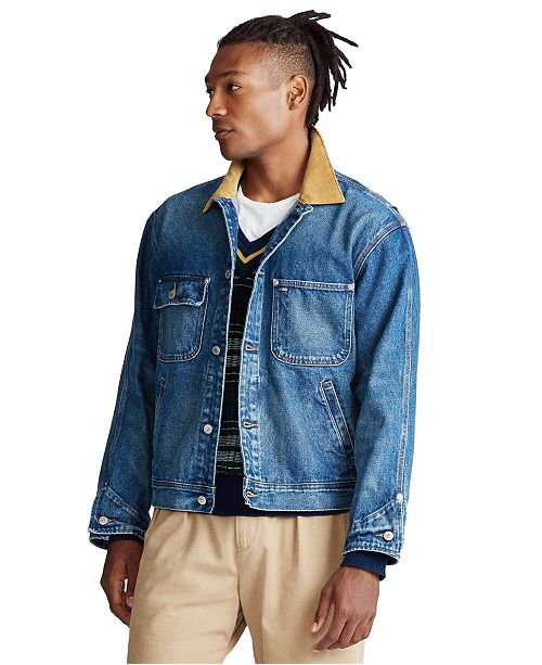 Polo Ralph Lauren Men's Dungaree Denim Jacket