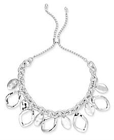 Silver-Tone Shaky Slider Bracelet, Created for Macy's