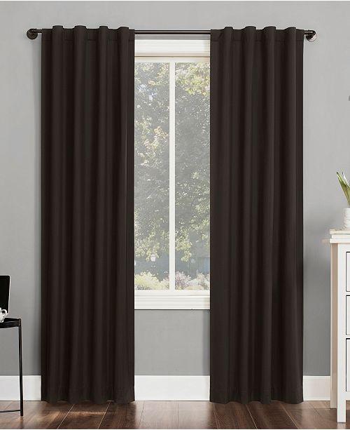 "Sun Zero Cyrus 40"" x 96"" Thermal Blackout Curtain Panel"