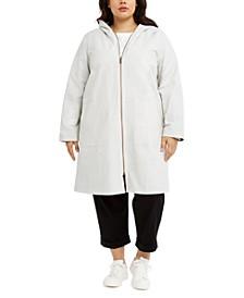 Plus Size Organic Hooded Jacket