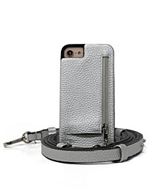 Crossbody 6 or 6S or 7 or 8 or SE iPhone Case with Strap Wallet
