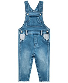 Baby Boys Denim Overalls, Created for Macy's