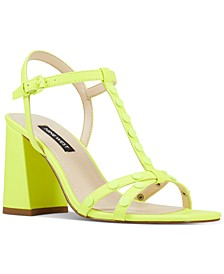 Glitter City Sandals