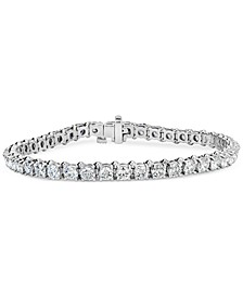 Certified Diamond Tennis Bracelet (8 ct. t.w.) in 14k White Gold