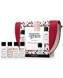 Receive a Free 5pc Moments of Grace Gift with any $49 Fragrance Purchase