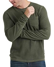 Men's Ribbed Pocket Sweater