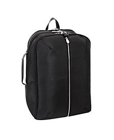 "Englewood 17"" Nylon Triple Compartment Laptop Tablet Weekend Backpack"