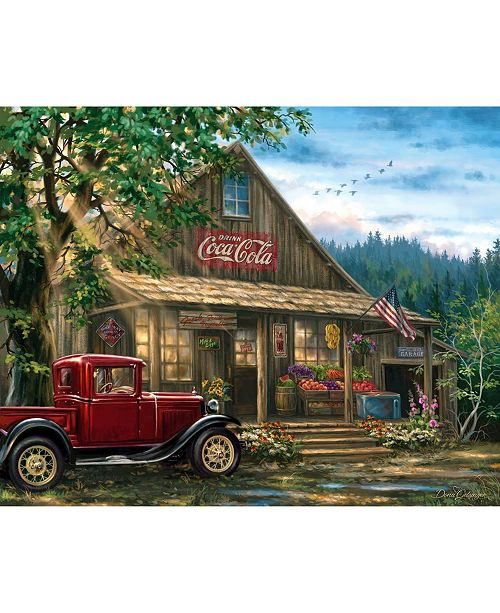 Springbok Puzzles Country General Store 1000 Piece Jigsaw Puzzle