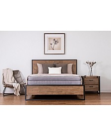 "Dahlia 14"" Hybrid Firm Talalay Latex Pillow Top Mattress, Quick Ship, Mattress in a Box- King"