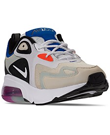 Women's Air Max 200 Running Sneakers from Finish Line