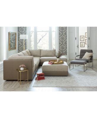 Mattley 6-Pc. Fabric Modular Sectional Sofa with Chaise, Created For Macy's