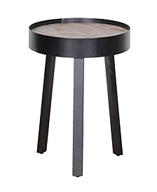 Taula Small Round Side Table