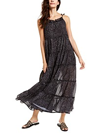 Senorita Ruffle-Trim Maxi Dress
