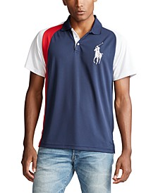 폴로 랄프로렌 Polo Ralph Lauren Mens Big & Tall Classic Fit Performance Polo Shirt