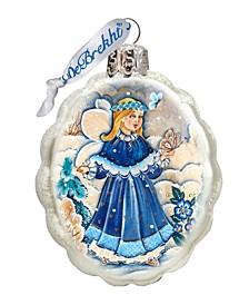 Little Fairy Glass Ornament